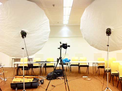 behind-the-scenes-2-x-Profoto-Umbrella-XL-Front-Diffuser-Conference-Room