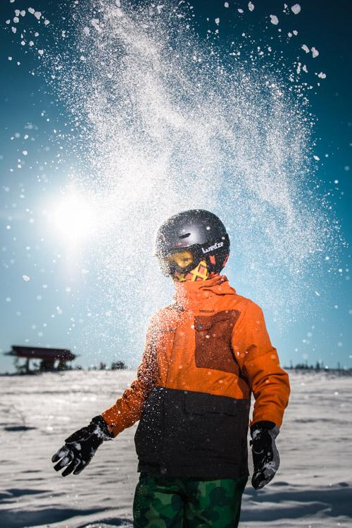 Profoto B10 For Winter Portraits In The Swedish Alps